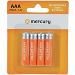 AAA 700mA NiMH battery - pack of 4