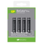 4 x AAA GP 800mAh ReCyko+ Pro Ni-MH Rechargeable Batteries