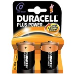 D Duracell Plus power 2 Pack