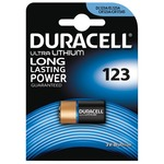 Duracell CR123 3 volt Lithium Battery