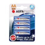 AA alkaline batteries - pack of 4