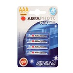 AAA alkaline batteries - pack of 4