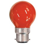 Red 15W BC / B22D Carnival Festoon Lamp