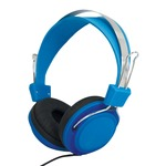 SoundLAB Fashion Colours Blue Stereo Headphones