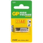 GP23AE-C1 High Voltage Super Alkaline Battery (Card Of One)