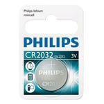 Blister of 1 CR2032 Philips lithium coin cell battery