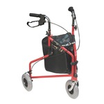 Red Tri Walker with Bag