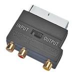 SCART plug to phono sockets