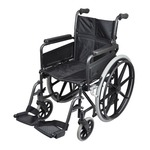 This deluxe self propelled steel wheelchair from aidapt has been designed to be one of the most comfortable, easy-to-use and durable wheelchairs on the market today. tested to british standards and with a 5 year warranty on the frame, the deluxe self propelled wheelchair offers independence and peace of mind.