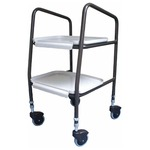 The wingmore height adjustable trolley (in increments of 25 mm) is the ideal solution to enable safe and easy transfer of meals around the house.