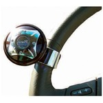The ezee turn steering knob from aidapt has an attractive design with a ball bearing for smooth operation and facilitates easy parking and increase manoeuvrability.