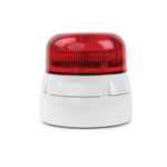 230V Xenon Strobe Beacon with Round Red lens SAB300R