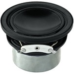 Miniature Hi-Fi full range speaker with highly efficient neodymium drive system - 30W MAX, 15W RMS, 4 Ohm