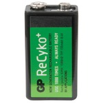 9v PP3 GP® Recyko+ NiMH rechargeable battery