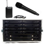 Trantec S4.10 Rack'n'Ready kit with 8 radio mics - ch 38