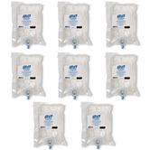 Box of 8 advanced Hygienic Hand Rub 1 litre NXT Purell bag - fragrance free