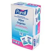 Purell 9022 Individual Sanitising Hand Wipes, box of 100