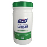 Purell 92106 Hand & Surface Sanitising Wipes (tub of 200)