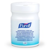 Purell 9213 Antimicrobial Hand Wipes (tub of 270)