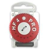 HF4 Right (Red) Wax Guard Wheel for Siemens Hearing Aids
