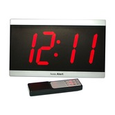 Sonic Alert extra Large Display Alarm Clock with remote control - BD4000