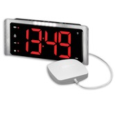 Amplicomms TCL410 Alarm Clock with Vibrating Pad