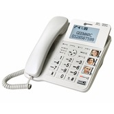 Geemarc CL595 Amplified Big Button Corded Telephone with Answering Machine