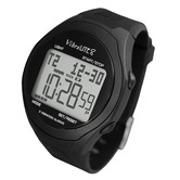 Ex demonstration Vibralite 8 watch with black silicone strap