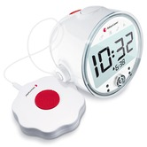 Bellman Visit Alarm Clock Receiver with Vibrating Bed Shaker