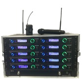 Trantec New S5.5 Racked'n'Ready with 10 radio mics