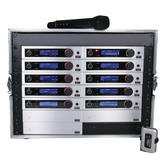 Trantec S5.3 Racked'n'Ready with 10 radio mics