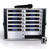 Trantec S5.5 Racked'n'Ready with antenna kit & 12 radio mics