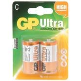 C alkaline batteries - GP Ultra - pack of 2