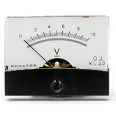 PM-2/10V Moving Coil Panel Meter - 10 volt dc