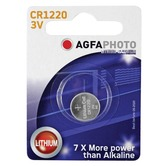 AGFA CR1220 3volt Lithium Button Cell Battery
