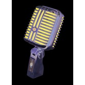Alctron Retro Dynamic Microphone with blue foam