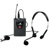 TXA-100HSE Beltpack UHF Tx c/w clip & headmic