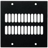 2-fold segment panel with ventilation slots