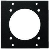 2-fold segment panel, 1x CEE panel jack