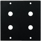 2-fold segment panel, 4x RCA panel jack for fitting to a MZMRSP10F front frame