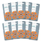 Siemens size 13 Hearing Aid Batteries - box of 60