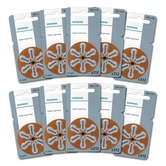 Siemens/Signia size 312 Hearing Aid Batteries - box of 60