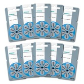 Siemens size 675 Hearing Aid Batteries - box of 60