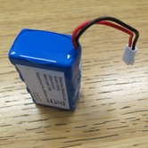 Replacement battery for Wi-Safe strobe/vibrator unit