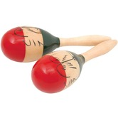 Traditional Wooden Maracas 10inch