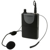 Neckband Mic & Beltpack for QRPR & QXPA - 174.1MHz