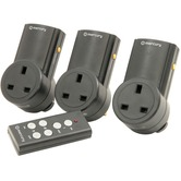 3 x Remote control adapters and remote controller