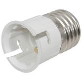 Lamp Socket Converter edison screw (E27) to a bayonet cap (B22)