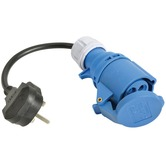 UK 13A plug to Ceeform Conversion Lead
