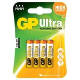 AAA 1.5V Alkaline batteries, pack of 4